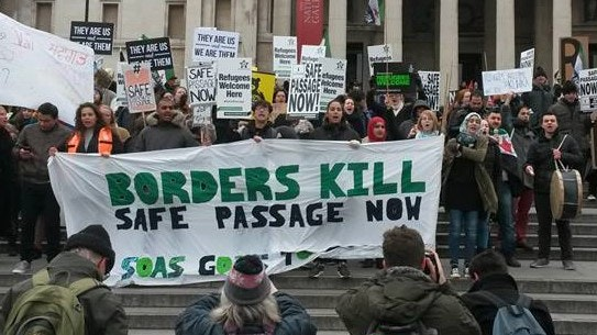 Migrant Solidarity in Paris & Calais