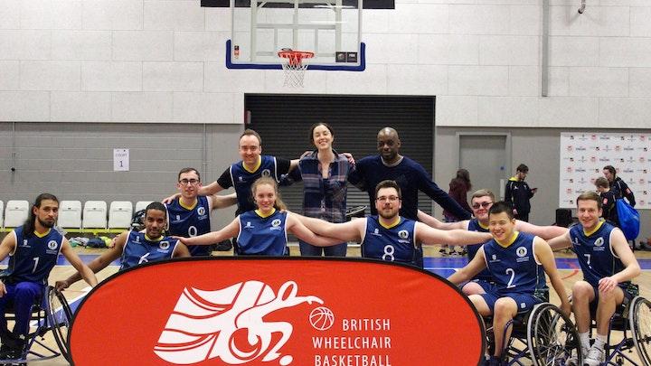 Raising Money for Basketball Wheelchairs