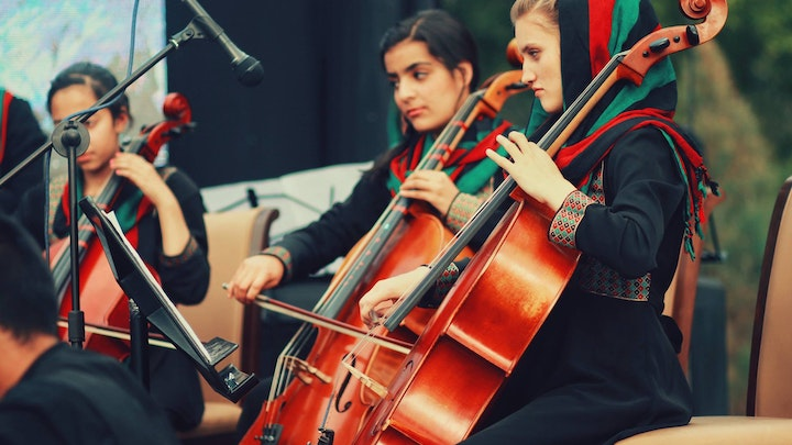 Afghan Women's Orchestra Somerville Residency