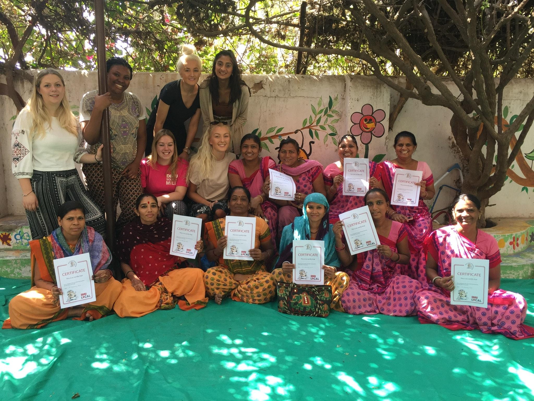 Volunteering in Ahmedabad - Square Mile India