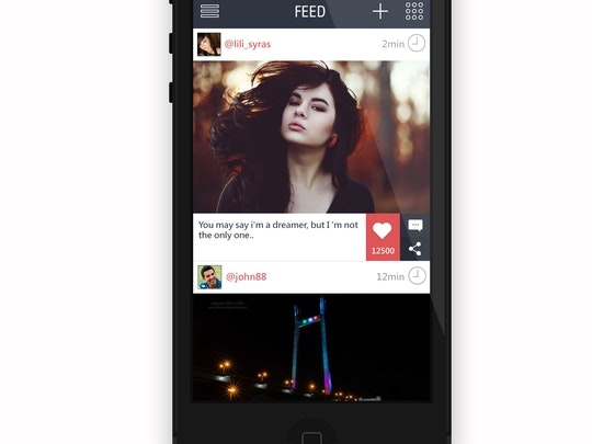 Photeo - Image, Video, Mood and Audio Sharing IOS App