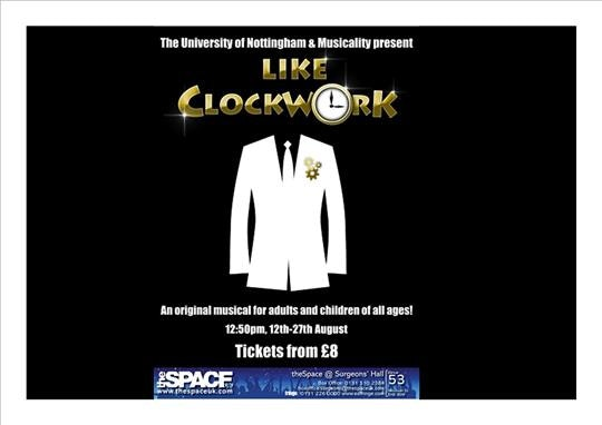 Like Clockwork - An Original Musical