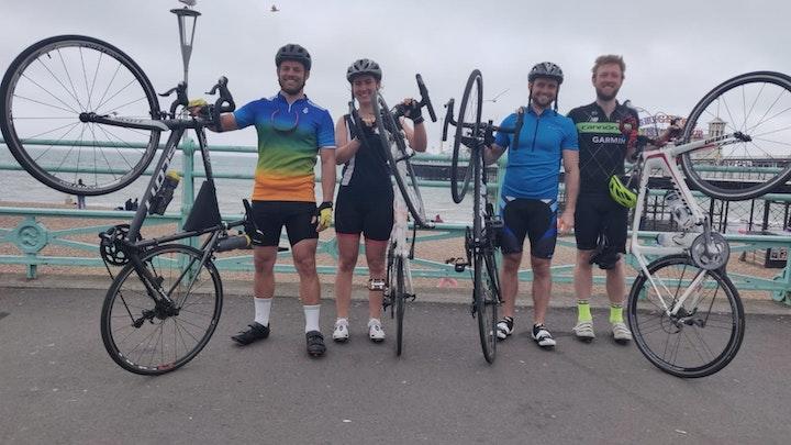 3 peaks pedal challenge