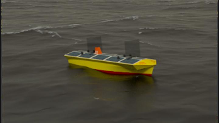 Autonomous Transatlantic Vessel