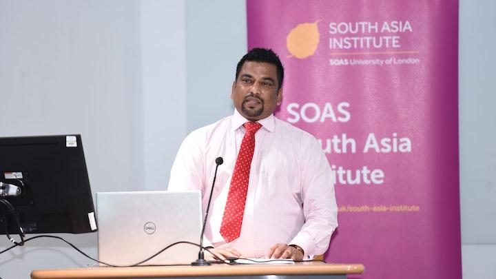 James Raj's Birthday Fundraiser for SOAS Tamil Studies