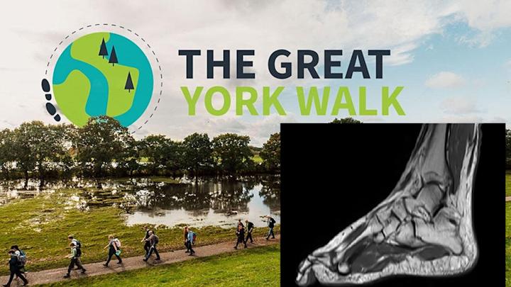 'Team MRI' take on The Great York Walk 2021!