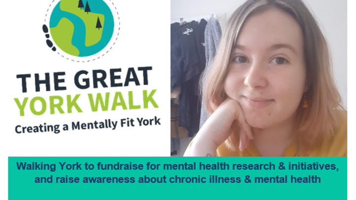 Caitlyn takes on The Great York Walk 2021!