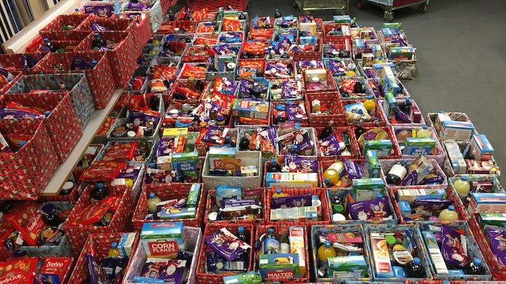 Stand Up For Social Work Society Christmas Food bank Appeal