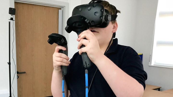 Virtual Reality Head-Mounted Displays for The Mendip School