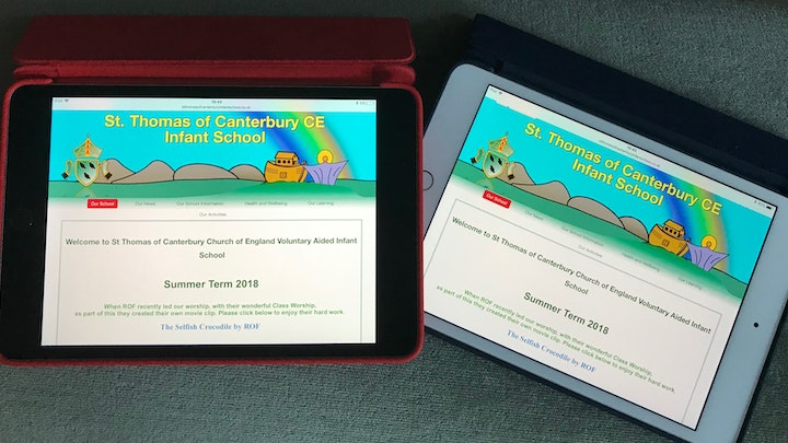iPads for St Thomas of Canterbury Infant School