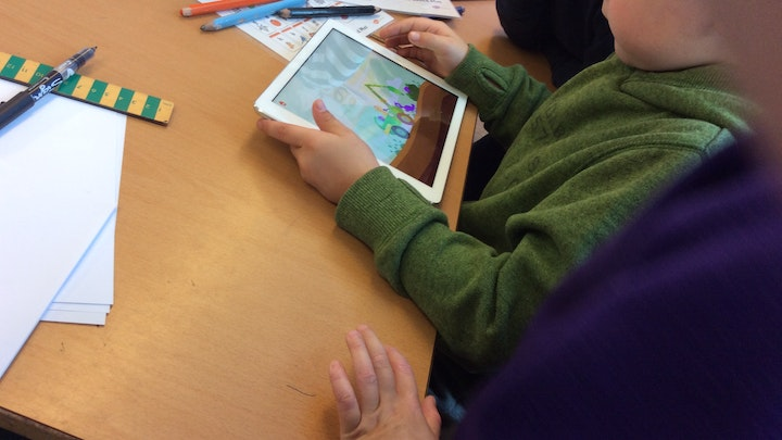 Putting iPads into Key Stage 1