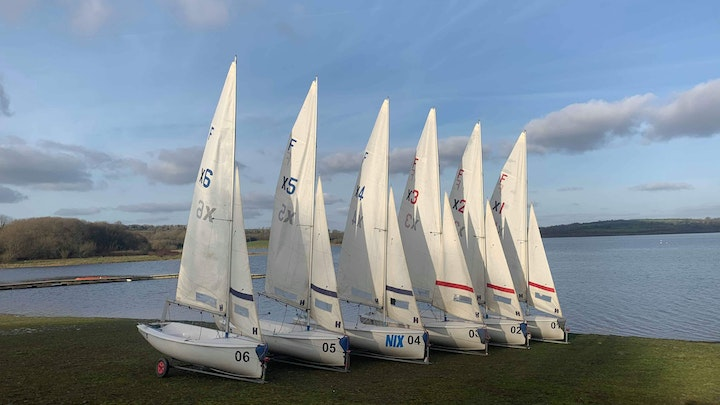 New Fireflies for Exeter Sailing