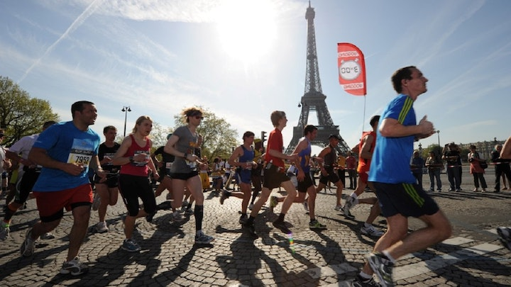 Paris Marathon for Physicans for Africa