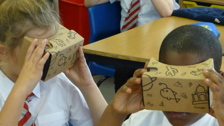 VR for Hillcroft Primary