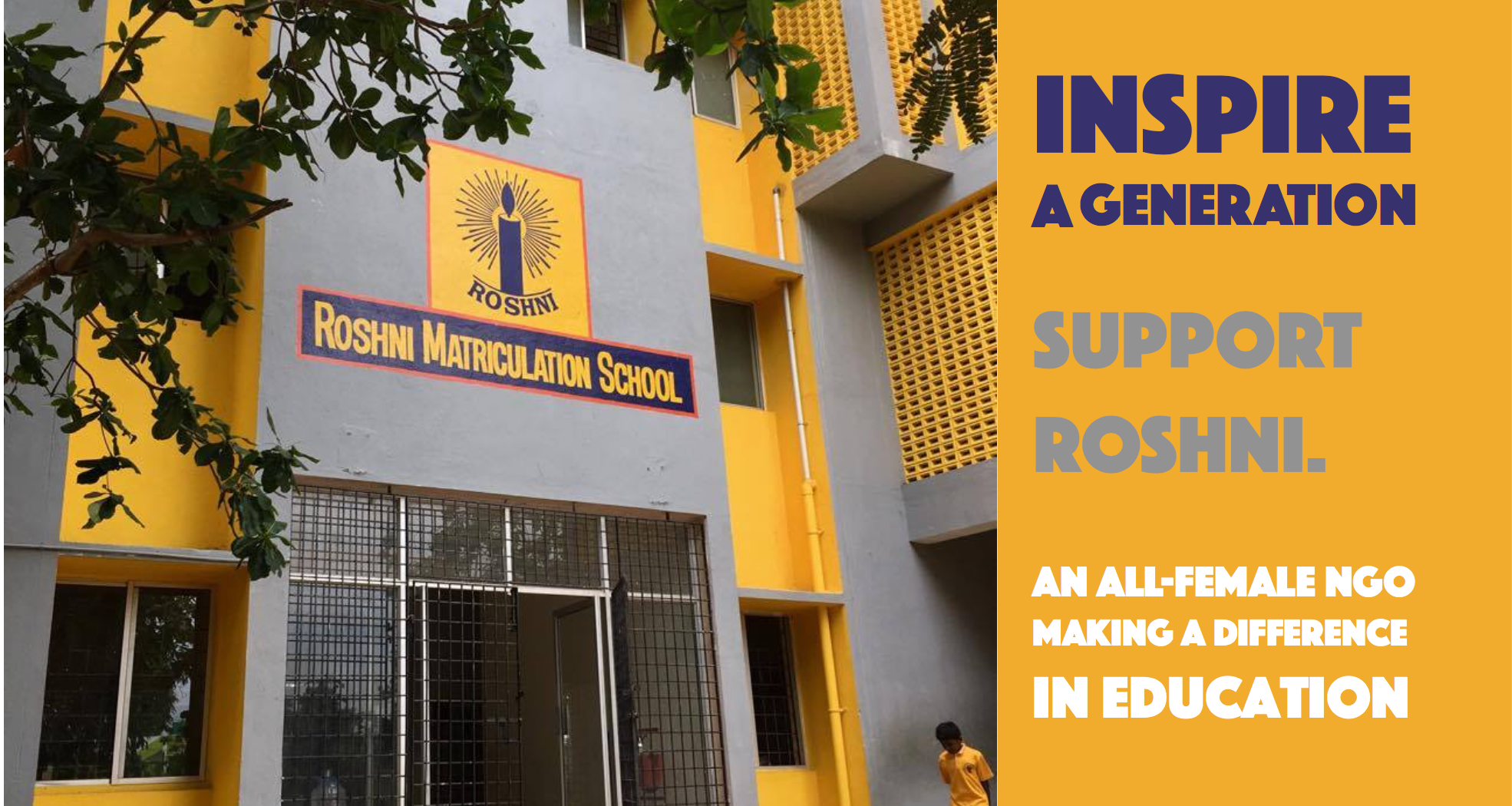 Roshni Project, India - Inspire a generation