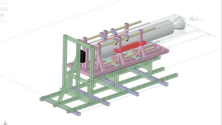 Kingston University Rocket Engine Test Stand