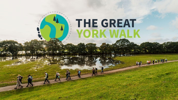 Clare takes on The Great York Walk 2021!
