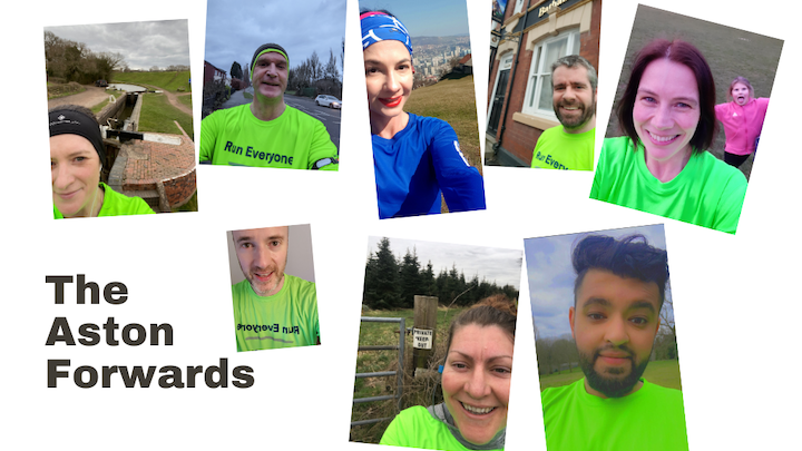 Runraising with The Aston Forwards