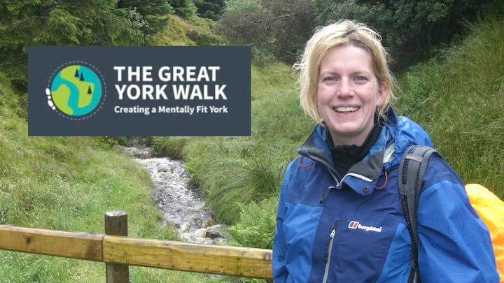 Silke takes on The Great York Walk 2021!