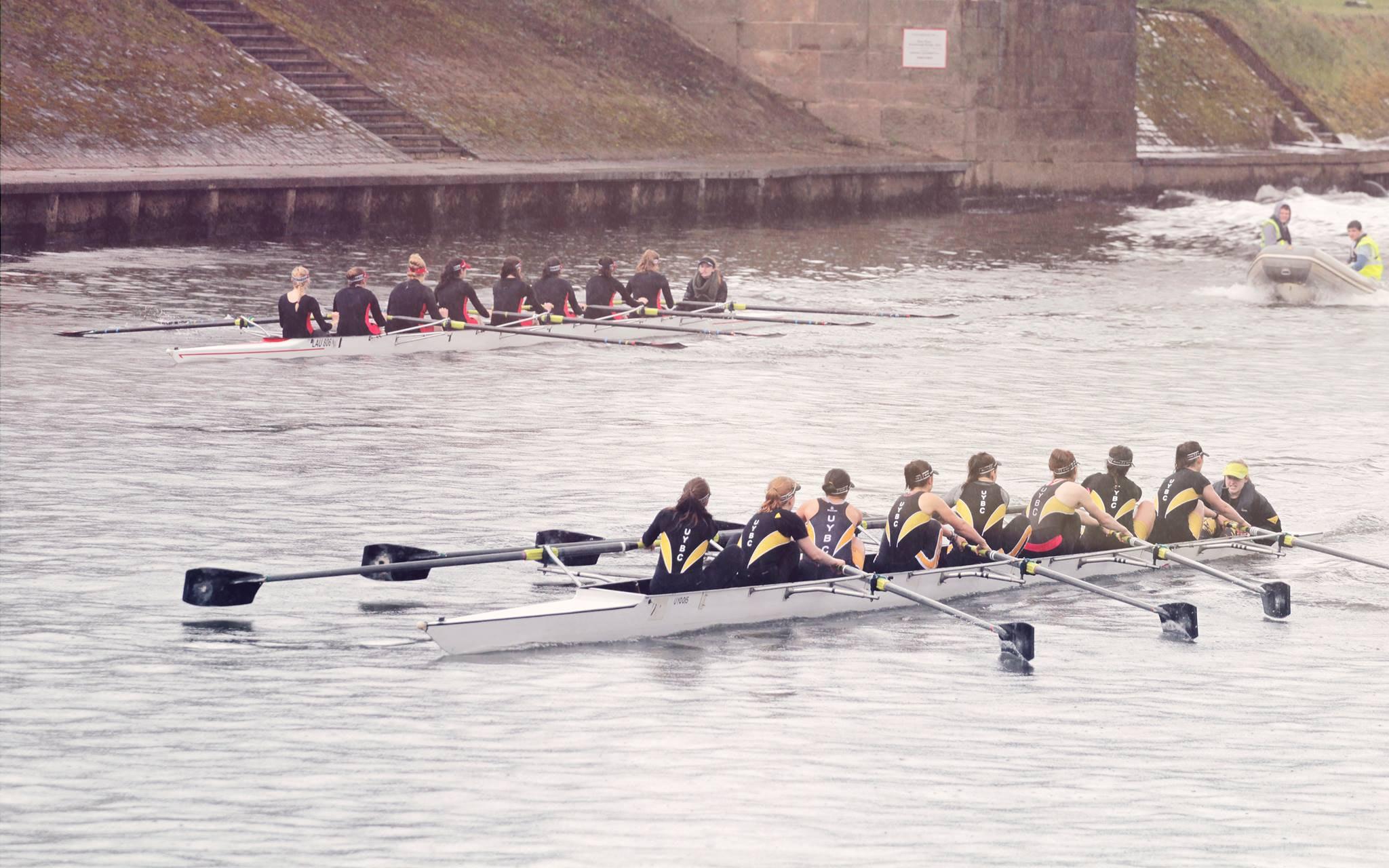 UYBC rowers do a marathon