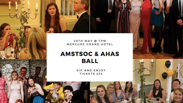 AMSTSOC & AHAS Ball