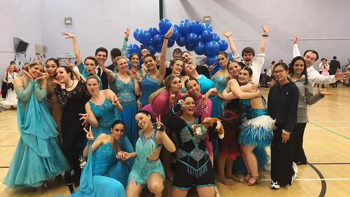 Help Dancesport take our dancers to competitions!