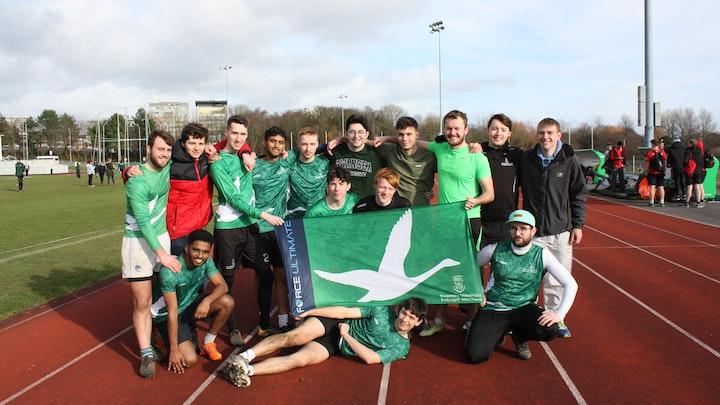 Help Swansea Uni Ultimate Frisbee Men to Outdoor Nationals