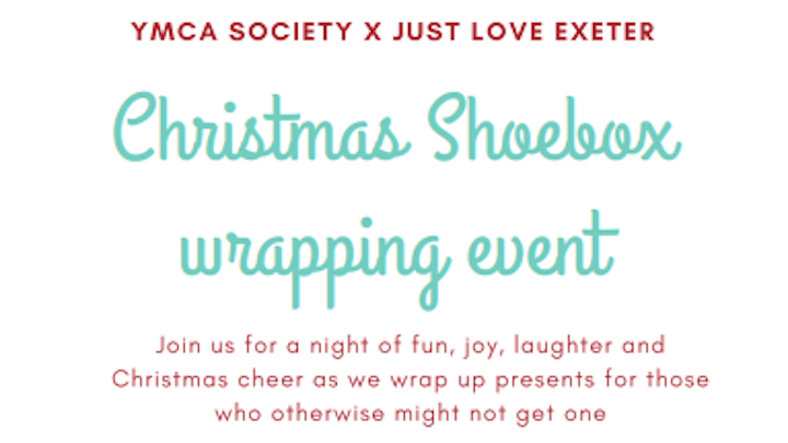 Christmas Shoeboxes for the Homeless