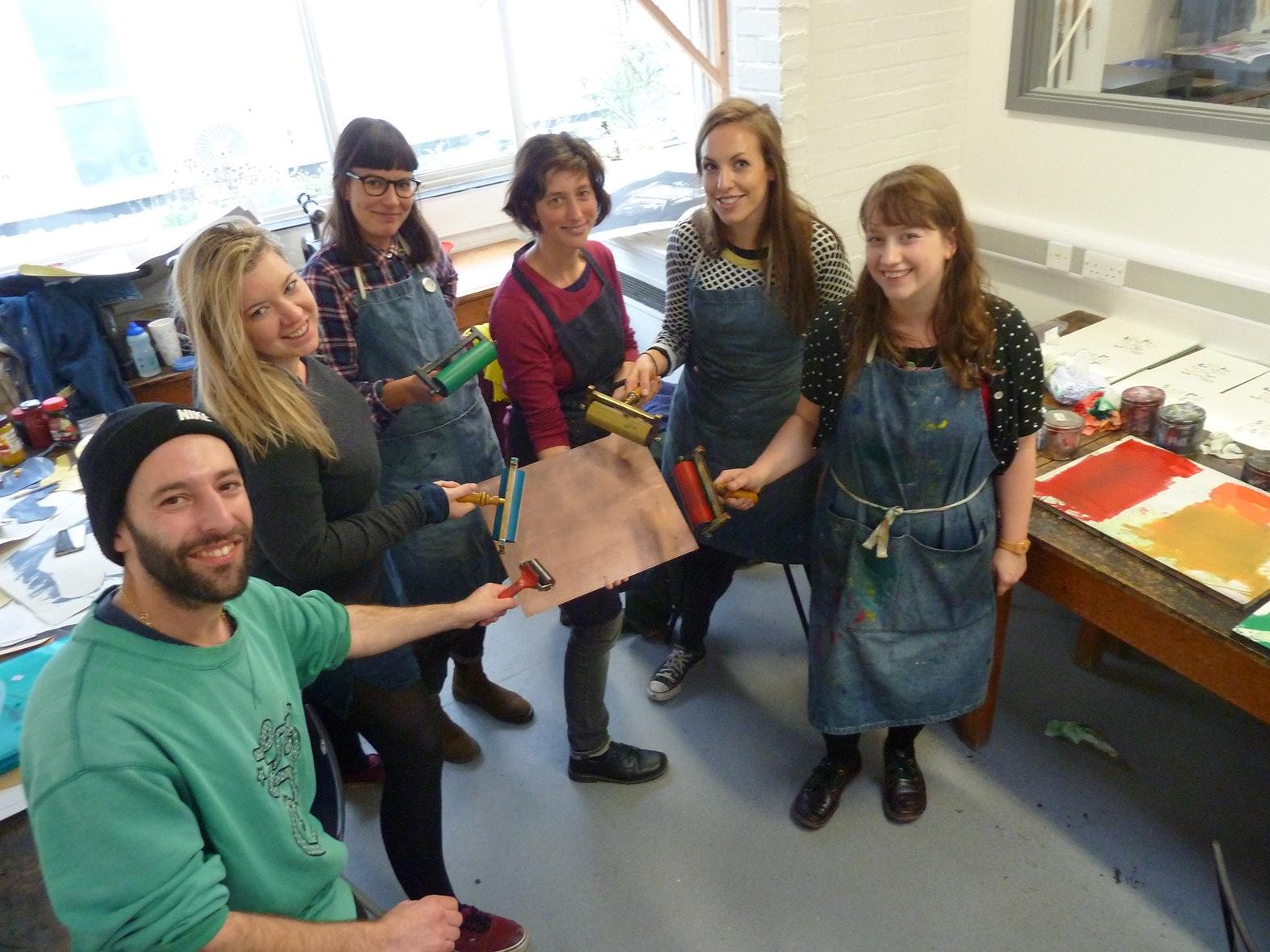 MAMDP Printmaking Fundraiser