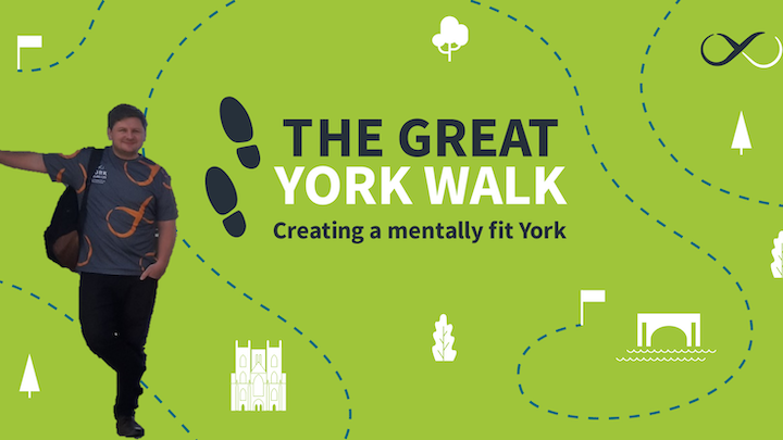 Tom takes on The Great York Walk!