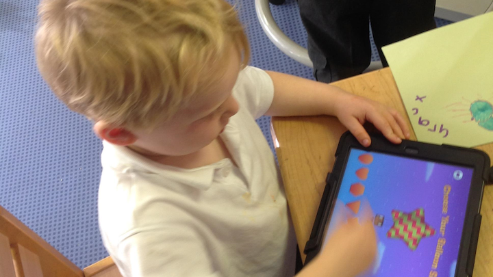 iPads for Nursery Children