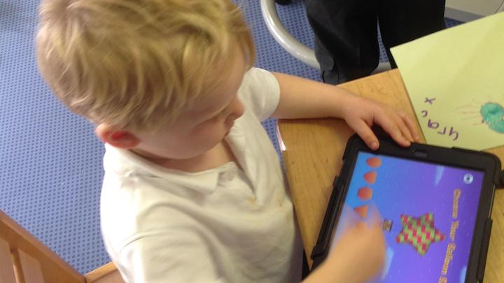 iPads for Nursery Children